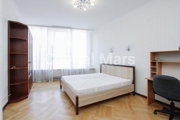 Спальня в квартире на Ленинградское шоссе, д. 37, к. 1