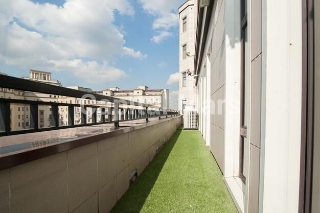 Балкон в квартире на ул. Новый Арбат, д. 29