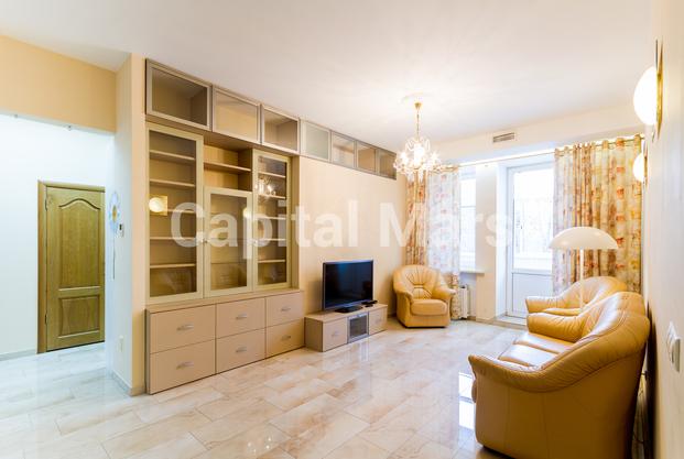 Гостиная в квартире на ул. Панфилова, д. 2, к. 2