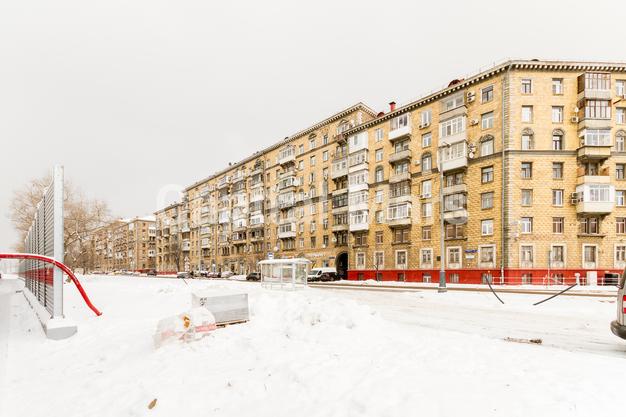 Фасад в квартире на ул. Панфилова, д. 2, к. 2