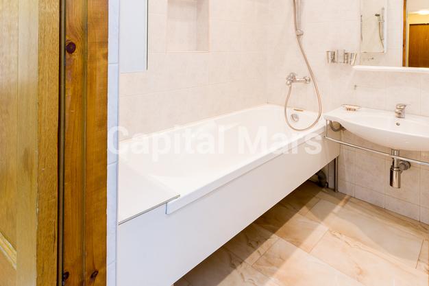Ванная комната в квартире на ул. Панфилова, д. 2, к. 2
