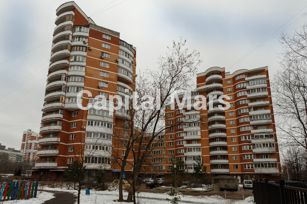 Фасад в квартире на ул. Маршала Тухачевского, д. 58, к. 3