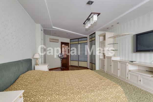 Спальня в квартире на ул. Маршала Тухачевского, д. 58, к. 3