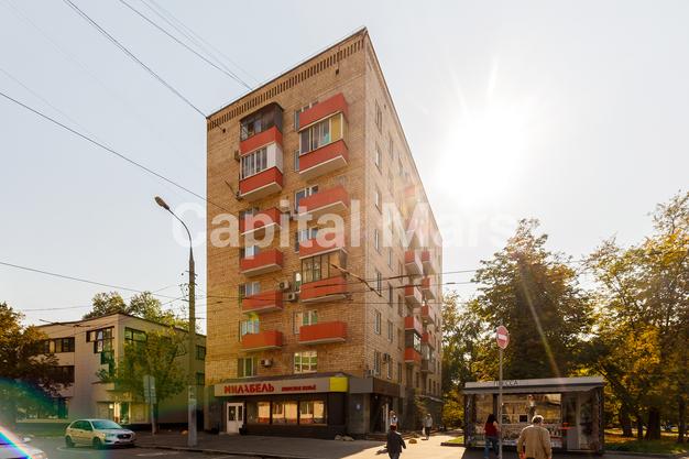 Фасад в квартире на Грузинский пер, д. 16