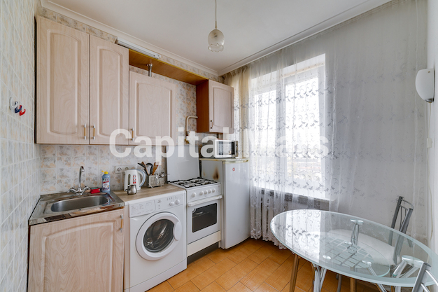 Кухня в квартире на Грузинский пер, д. 16