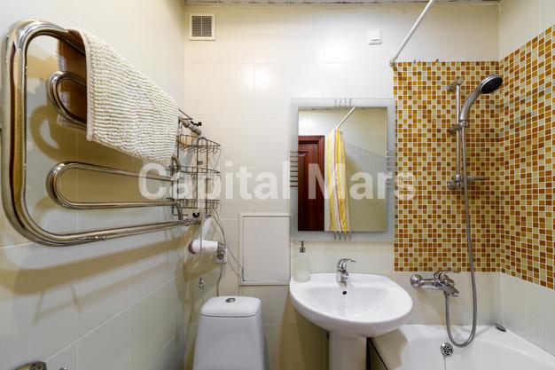 Ванная комната в квартире на Грузинский пер, д. 16