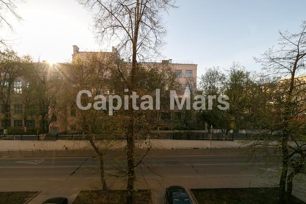 Вид из окна в квартире на Ленинградский пр-кт, д. 1