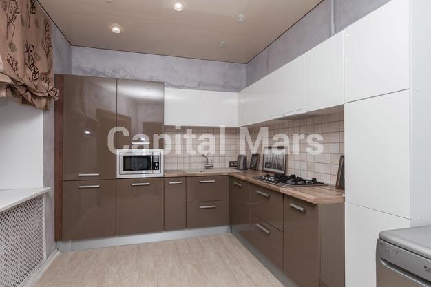 Кухня в квартире на ул. Красная Пресня, д. 32-34