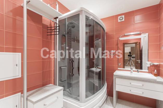 Ванная комната в квартире на ул. Красная Пресня, д. 32-34