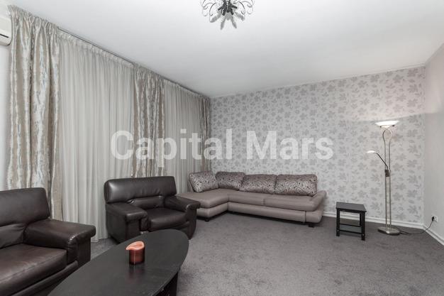 Гостиная в квартире на ул. Красная Пресня, д. 32-34