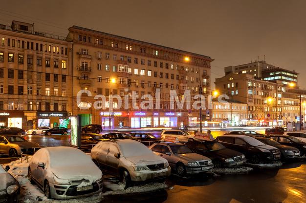 Фасад в квартире на ул. Красная Пресня, д. 32-34