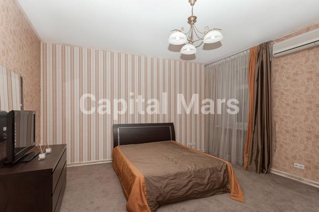 Спальня в квартире на ул. Красная Пресня, д. 32-34