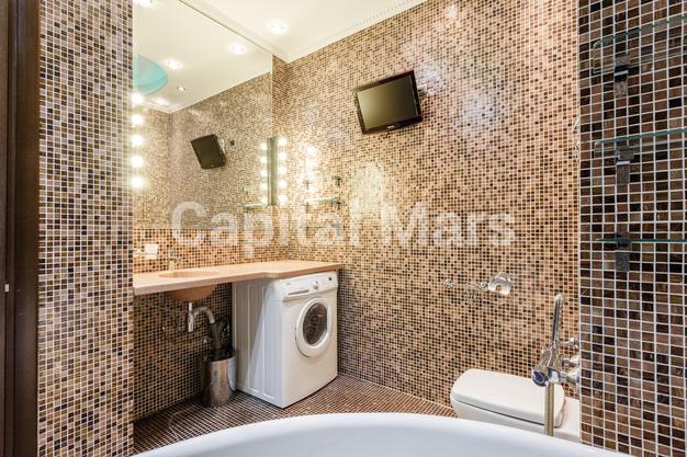 Ванная комната в квартире на ул. Крылатские Холмы, д. 37