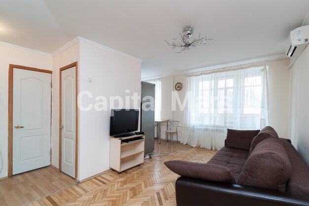 Гостиная в квартире на ул. Николаева, д. 1