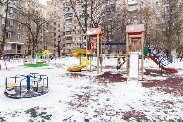 Детская площадка в квартире на ул. Николаева, д. 1