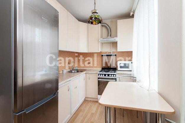 Кухня в квартире на ул. Николаева, д. 1