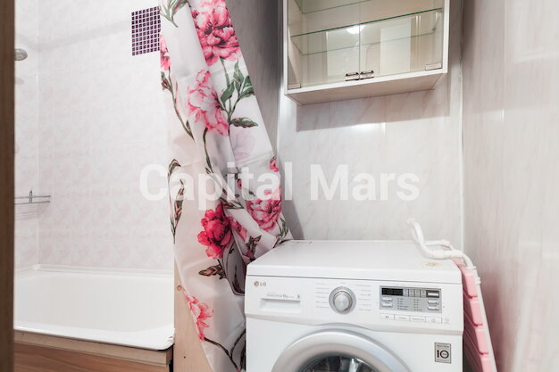 Ванная комната в квартире на ул. Николаева, д. 1