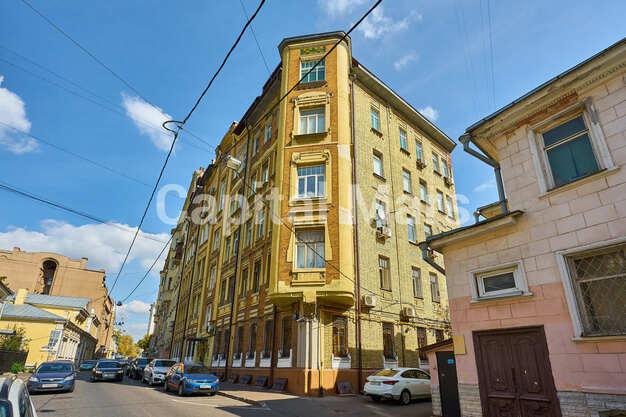 Фасад в квартире на Трубниковский пер, д. 24, стр. 1